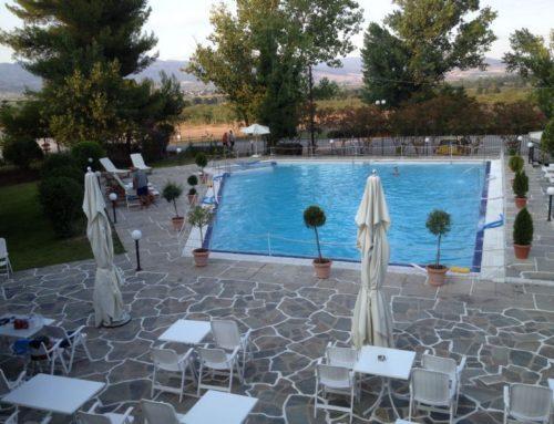 19 Ιουλίου 'Ανοιξε η πισίνα των Λουτρών Υπάτης