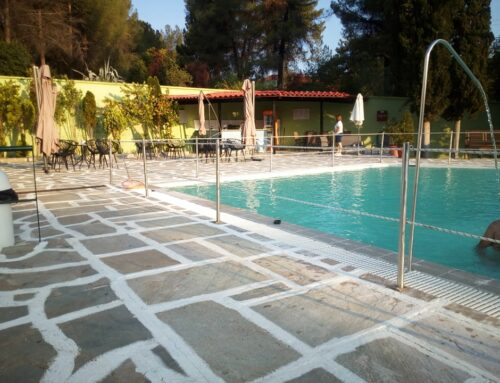19 Ιουνίου 2021, Άνοιξε η πισίνα των Λουτρών Υπάτης